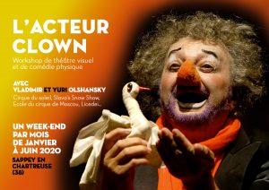 Stage Acteur Clown avec V. Olshansky ( Cirque du Soleil)